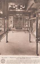 CPA BELGIQUE BELGIUM BRUXELLES expo publique belgo-japonais hall d'entrée
