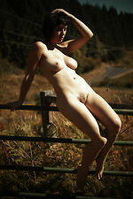 8x10 Fine Art NUDE print female model naked Color photograph. Signed!!