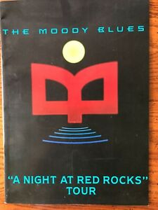 The Moody Blues A Night at Red Rocks tour book