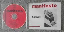 Manifesto - Sugar - Original UK 3 TRK CD Single
