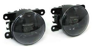 SMOKED LED FOG LIGHTS FOR CITROEN C1 C4 C5 C6 XSARA DACIA DUSTER LOGAN SANDERO