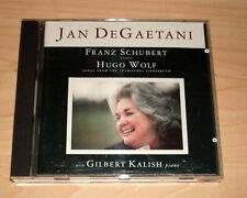 CD Album - Jan DeGaetani - Franz Schubert - Hugo Wolf - Gilbert Kalish
