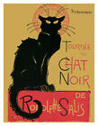 """Chat Noir by Theophile Steinlen Vintage Advertising Mini Poster - 11"""" x 14"""""""