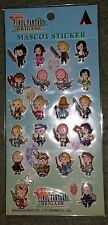 Final Fantasy Brigade Sticker Mascot IV V VI VII IX X Lightning Cloud