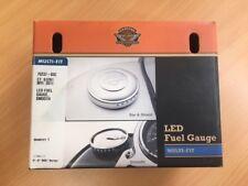 Genuine Harley Davidson LED fuel gauge smooth chrome 75237-03c Dyna Softail