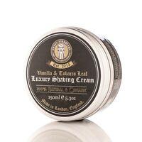 Shaving Cream Vanilla & Tobacco Leaf 100% Natural, Organic & Handmade in London