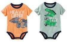 OshKosh BGosh Infant Boy TWO Graphic Bodysuits - Front...