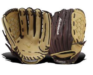 Akadema ACE70 Fastpitch Softball Glove RHT Beige/Brown
