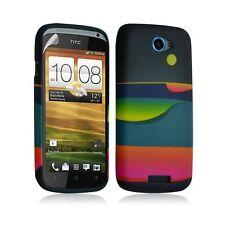 Housse coque étui gel pour HTC One S motif LM04+ Film protecteur