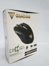 Gamdias Erebos GMS7500 Spiele Maus USB 8 Tasten 3500 DPI Schwarz