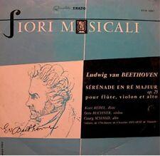 REDEL/BUCHNER/SCHMID/ORCHESTRE PRO ARTE serenade en ré majeur BEETHOVEN LP 25cm+