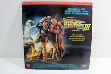 Back To The Future 3 = LaserDisc = 1990 with Michael J. Fox
