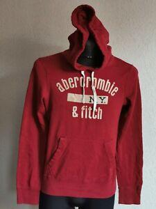 Abercrombie & Fitch original kids boys dark red sweatshirt with hoody size XL