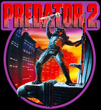 90's Sci-Fi Classic Predator 2 Poster Art custom tee Any Size Any Color