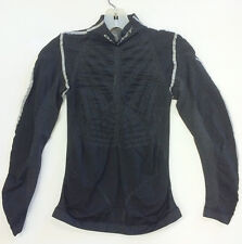 WP3 Cycling Long Sleeve BASE LAYER in Black. Made in Italy by Outwet