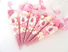 Unicorn Lol Doll 20 x Pre Filled Sweet Cones Pink Personalised  Lol surprise 20