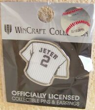 NY New York Yankees Derek Jeter jersey lapel pin
