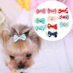 10pc Puppy Dog Hairpin Small Puppy Cat Hair Clips Pet Hair Grooming Accessories