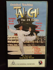 Dr. PAUL LAM ~ DETAILED TEACHING TAI CHI ~ THE 24 FORMS~ VHS VIDEO~FREE POST