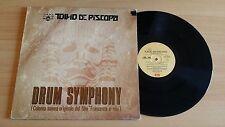 TULLIO DE PISCOPO - DRUM SYMPHONY - LP 33 GIRI - ITALY PRESS