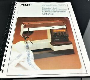 PFAFF Creative 1471 Sewing Manual Instructions User Guide Reprint COIL BOUND