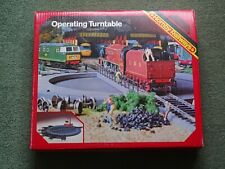 HORNBY R410 Operating Turntable, Manual, Boxed.