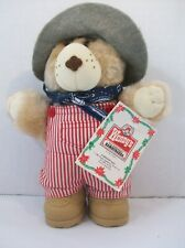 Wendy's Hamburgers Dudley Furskin Bears Childrens Meal Toy Premium Stuffed Plush
