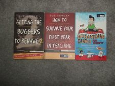 Sue Cowley Teaching Books and TBennett behaviour guru