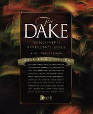Dake Annotated Reference Bible-KJV-Large Print, , Excellent Book