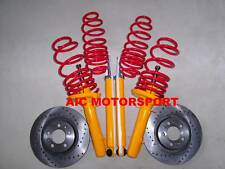 Renault Clio 2 B  ressorts amortisseurs disques sport kit suspension