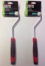 """2 Shur Line Premium 4"""" Foam Paint Stain Rollers Ultra Smooth Surfaces 04900 New"""