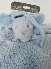 New Baby Security Blankets & and Beyond Blue Sherpa Puppy? Nunu