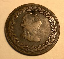 """Lower Canada - """"Holy Tiffin Token"""" - 1/2 Penny - 1812 - FREE U.S. SHIPPING!"""