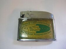 North American Life and Casuality Company Insurance Vintage Warco Lighter  T*