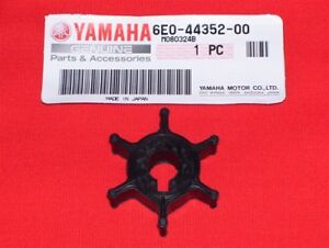 GENUINE Yamaha Outboard Water Pump Impeller 6E0-44352-00