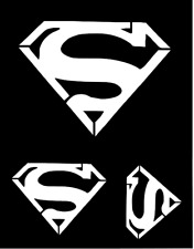 "Multi Sizes Superman Symbols Template Stencil Airbrush Paint 8 1/2"" x 11"""