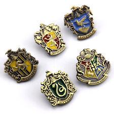 Harry Potter Hogwarts Signet Metal Badge 3*3cm Funny Xmas Gift for Kids