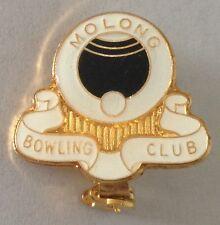 Molong Bowling Club Badge Rare Vintage (L3)