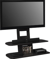 Tv Stands For Flat Screens with Mount Up to 65 Inch Black Entertainment Center