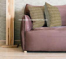 "Indian 16"" Cotton Kantha Cushion Cover Home Decorative Hippie Bohemian Homedecor"