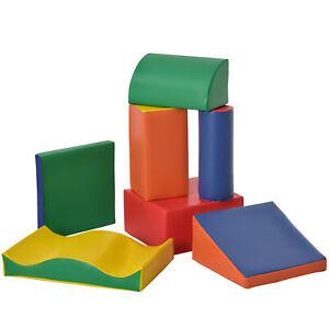Giant Building Kids Play Set Childrens Soft Construction Learning Shape Blocks
