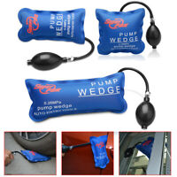 3pc Automotive Air Pump Wedge PDR Tools Hand Inflatable Car Door Window Hand Set