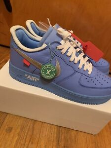"off-white x nike air force 1 '07 low ""mca"" Size 11"