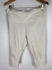 Lysse Size XL White Capri Leggings Stretchy