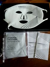 CurrentBody Skin LED Light Therapy Mask & 4 Hydrogel Masks with Warranty RP£369