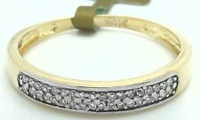 Genuine Diamonds Front 14k Yellow Gold Ring