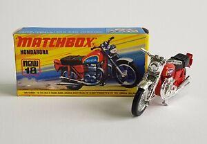 Matchbox Superfast No. 18, Hondarora, - Pristine Mint Condition.