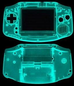 Game Boy Advance [GBA] Replacement Case/Shell/Housing [Glow in the dark]