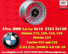 1 Cerchio BMW Alpine Style 8x16 ET24 5x120 5 6 7er Wheel Felge Llanta Jante TÜV