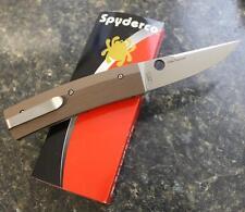 NEW Spyderco C164GPBN Nilakka Ethnic Series Scandi Grind CPM S30V Blade & G-10